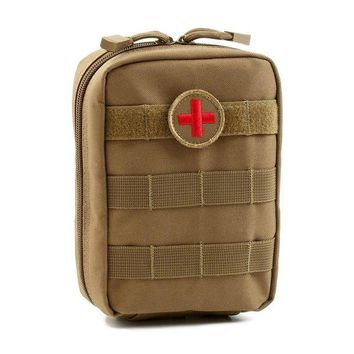 ONETOW Mini Pouch Travel First Aid Kit Survie Portable Survival Tactical Emergency First Aid Bag Military Kit Medical Quick Pack
