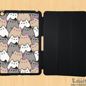 iPad Mini Case, iPad Mini Cover, iPad Mini Smart Cover, Leather iPad Mini Smart Case, Flip Case, iPad Mini Hard Case - Cat , Because Cats