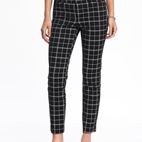 Pixie Mid-Rise Ankle Pants for Women | Old Navy