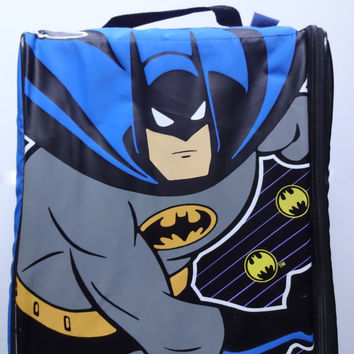 Vintage Batman Insulated Lunch Box Backpack 1992