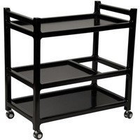 Noir Aly Trolly | New Furniture | What's New! | Candelabra, Inc.