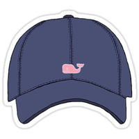 'Vineyard Vines Baseball Cap' Sticker by meg779
