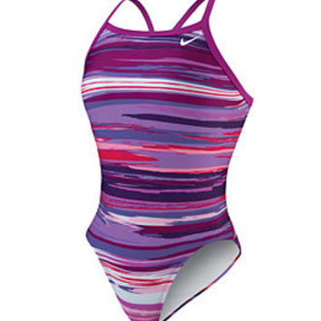 Nike Swim Horizon Lingerie Tank at SwimOutlet.com - Free Shipping