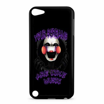 Five Nights At Freddy S The Marionette iPod Touch 5 Case