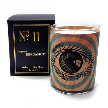 Wood Candle No. 11 Bergamot