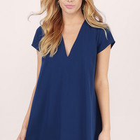 Swoop In Shift Dress