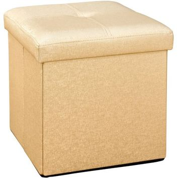 Single Folding Ottoman, Multiple Colors - Walmart.com