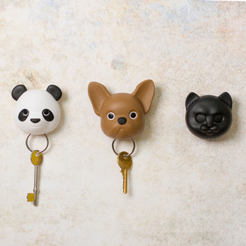Sleepy Animal Key Hooks | FIREBOX\u00ae