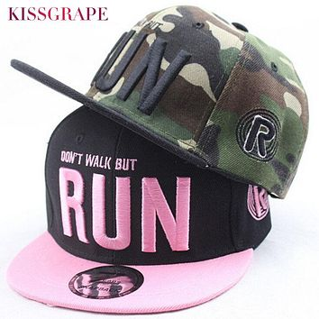 Parenting Camouflage Children Boys Girls Baseball Caps Hats Men Women's Hip Hop Cap Emboridery Letters Flat Snapback Hats gorras