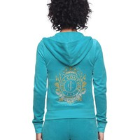 Logo Jc Cameo Velour Original Jacket by Juicy Couture,