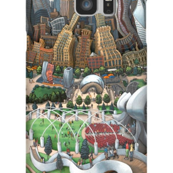 Michael Birawer Chicago Bean Galaxy Note 5 Slim Case
