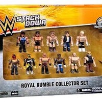 WWE Wrestling C3 Construction StackDown Royal Rumble Collector Set #21099