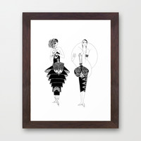 Fashionable Flappers Print