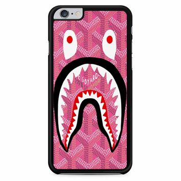 Shark Bape Goyard Pink iPhone 6 Plus / 6S Plus Case
