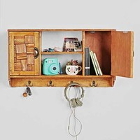 Jigsaw Wall Cabinet- Brown One