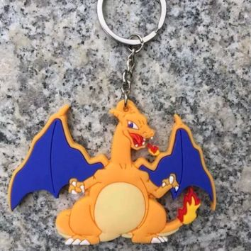 Brand New Video Game Pokemon Charizard Keychain