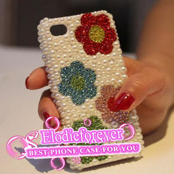 Cute Iphone case,Flower iPhone 4 case, Flowers iPhone 4S case,Flower iPhone 5 Case -iPhone cover, Designer iPhone case, case for iPhone, A97