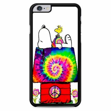 Snoopy And Woodstock Tie Dye iPhone 6 Plus / 6S Plus Case