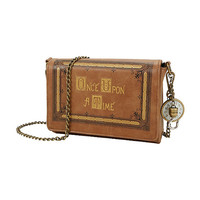 Once Upon A Time Book Cover Crossbody Bag