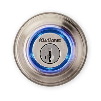 Kwikset Kevo (2nd Gen) Touch-to-Open Bluetooth Smart Lock in Satin Nickel