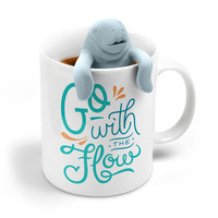 Tea for Two - Manatea Tea Infuser + Mug Gift Set