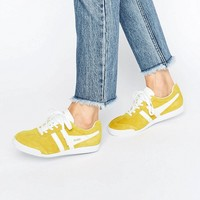 Gola Classic Harrier Trainers In Yellow at asos.com