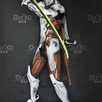 Overwatch Cosplay Genji Full Armor Costume Ultimate Edition
