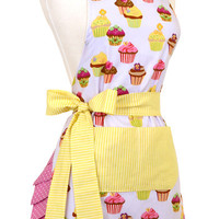 The Frosted Cupcake Ladie's Apron