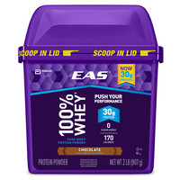 EAS 100% Pure Whey Protein Powder, Chocolate  2 lb