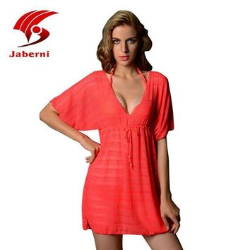 DCCK7N3 New hollow out beach dress bathing suit cover up female tunic sexy swimwear summer crochet bikini cover ups women swimsuit pareo