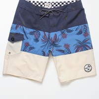 Vans Psych Panel Boardshorts - Mens Board Shorts - Black