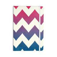 "Catherine McDonald ""Fade to Blue"" Chevron Everything Notebook"
