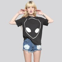 Alien Distressed Tee - Gypsy Warrior