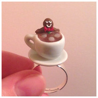 Gingerbread Man Jacuzzi Ring