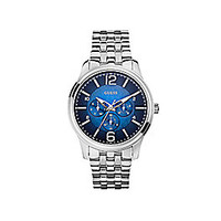 Guess Men's Blue Dial Multifunction Watch