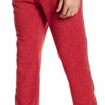 New with Tag - True Religion Big T Ruby Red Basic Men's Sweatpants