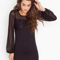 Natalie Lace Dress - NASTY GAL