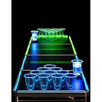 Glowing Beer Pong Table - 8 ft - Spencer's