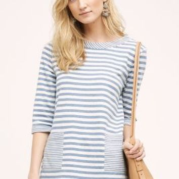 Eri + Ali Ruled Pocket Tunic