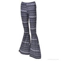 Tribal Bell Bottom  Pants