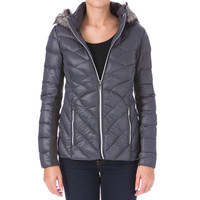 BCBGeneration Womens Down Packable Puffer Coat