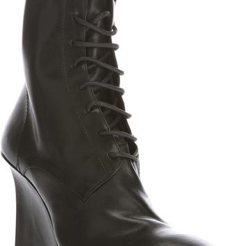 Ann Demeulemeester Lace-Up Ankle Boot