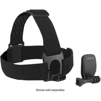 GoPro - Head Strap and QuickClip - Black