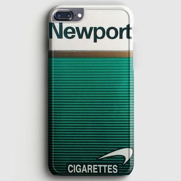 Newport Cigarette Green iPhone 8 Plus Case | casescraft