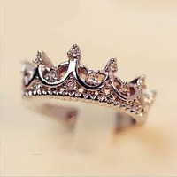 Palace Crown Silver Ring