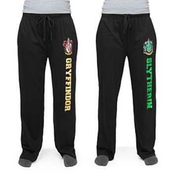 Harry Potter House Unisex Black Lounge Pants - Exclusive