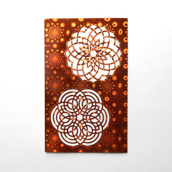 2 sheets mandala stickers