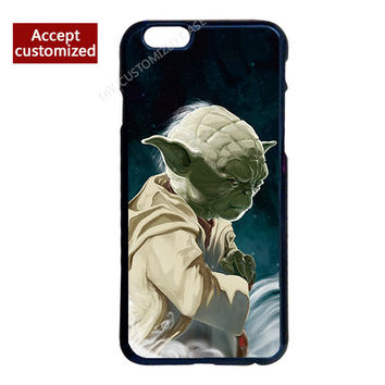 Famous TV Play Yoda Star Wars Cover Case for iPhone 4 4S 5 5S 5C 6 6S 7 Plus iPod Touch 4 5 6 LG G2 G3 G4