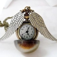 The Golden Watch-Necklace | Wicked Clothes