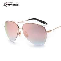 BOUTIQUE Designer Sunglasses Unisex Alloy Frame, UV400 Protection